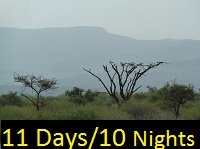 Cultural Sightseeing Tour Packages for the Omo Valley area in South Ethiopia
