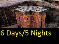 Our Ethiopia 6 days and 5 nights historical tour packages.
