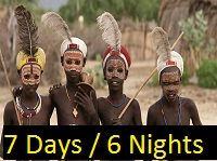 Cultural tour packages to the Omo Valley in Ethiopia.