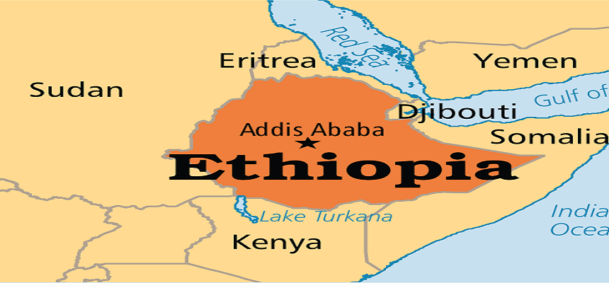 Ethiopia, a country in the Horn of Africa